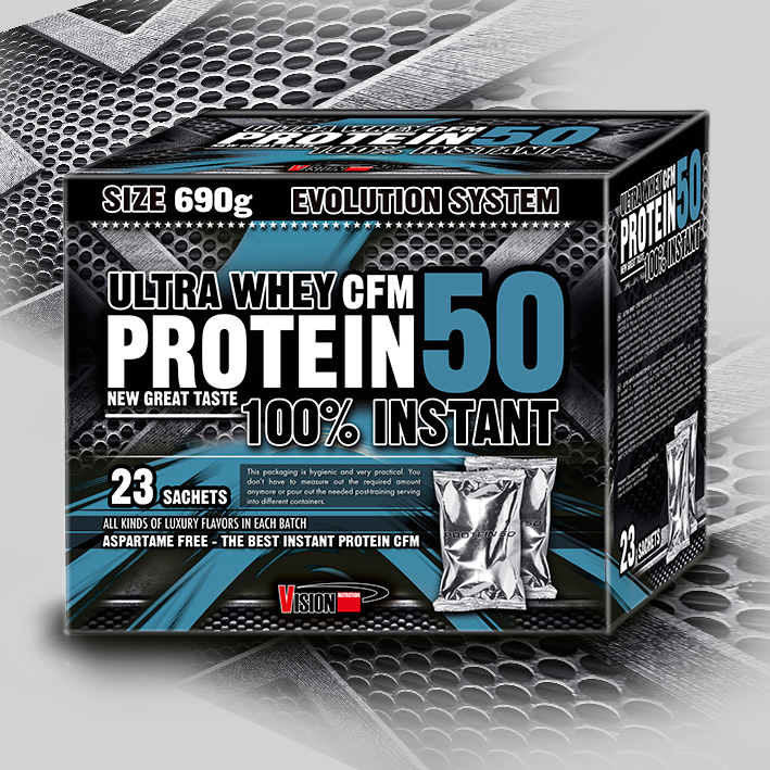 ULTRA WHEY CFM PROTEIN 50 (23 sachets)