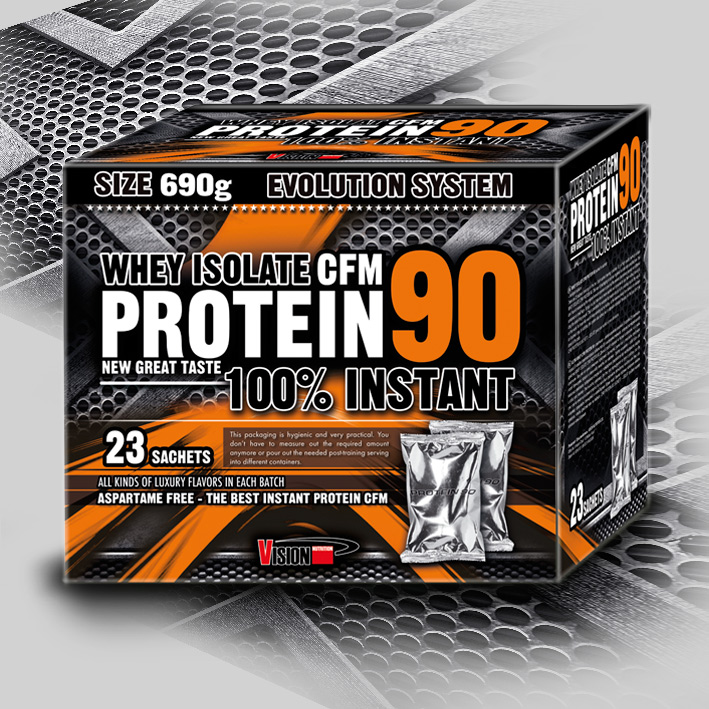 WHEY ISOLATE CFM PROTEIN 90 690 g (23 sachets)