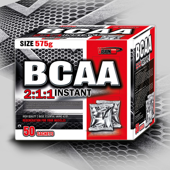 BCAA 2:1:1 Instant 575 g (50 sachets)
