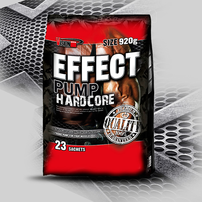EFFECT PUMP HARDCORE 920 g (23 sachets)