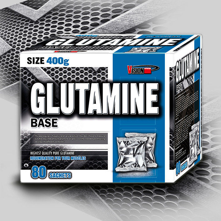 GLUTAMINE BASE 400 g (80 sachets)