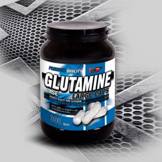 GLUTAMINE BASE LARGE CAPS (300 kapslí)